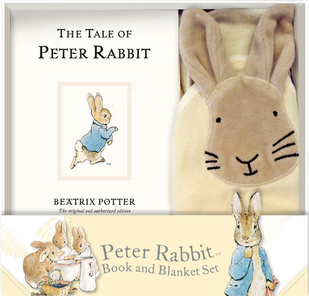 Peter Rabbit Book and Blanket Set by Penguin Young Readers