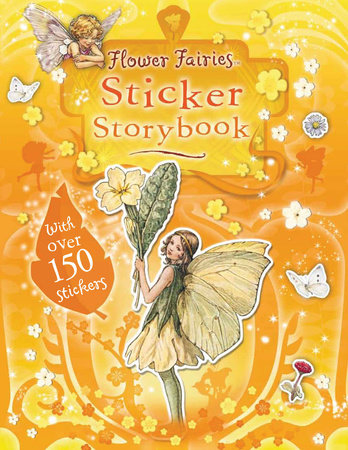 Flower Fairies Sticker Storybook by Cicely Mary Barker Illustrated by Cicely Barker