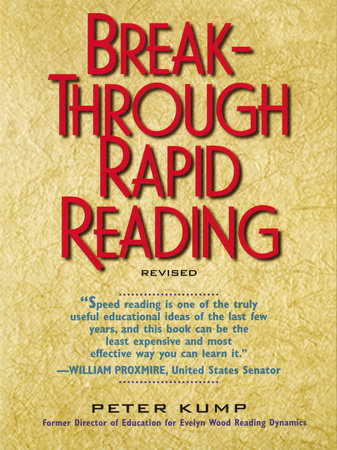 Breakthrough Rapid Reading by Peter Kump