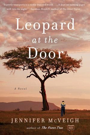Leopard at the Door by Jennifer McVeigh