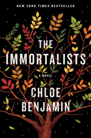 The cover of the book The Immortalists