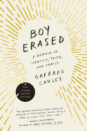 Boy Erased Book Cover Picture