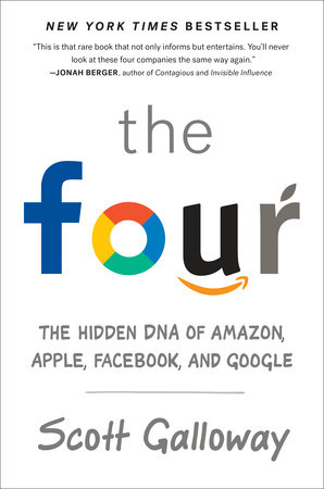 The cover of the book The Four