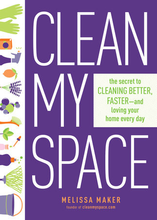 Clean My Space Book Cover Picture