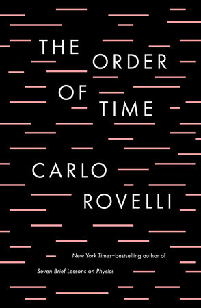 The cover of the book The Order of Time