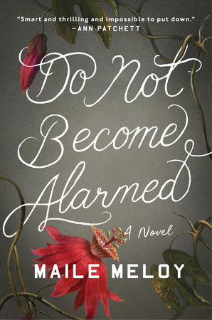 The cover of the book Do Not Become Alarmed