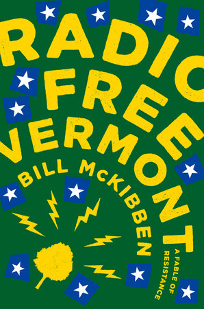 The cover of the book Radio Free Vermont