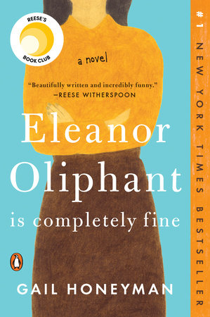 The cover of the book Eleanor Oliphant Is Completely Fine