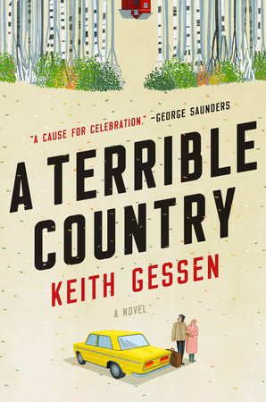 The cover of the book A Terrible Country