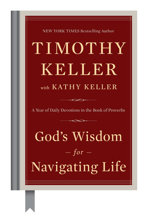 The cover of the book God's Wisdom for Navigating Life