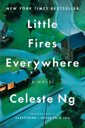 The cover of the book Little Fires Everywhere