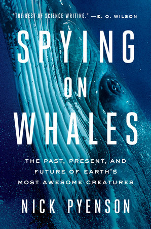The cover of the book Spying on Whales
