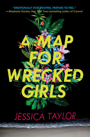 The cover of the book A Map for Wrecked Girls