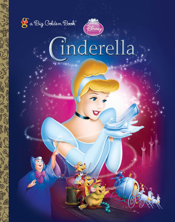 Cinderella (Diamond) Big Golden Book (Disney Princess) by RH Disney