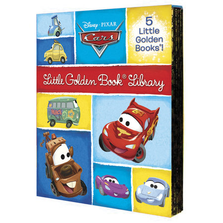 Cars Little Golden Book Library (Disney/Pixar Cars) by Various