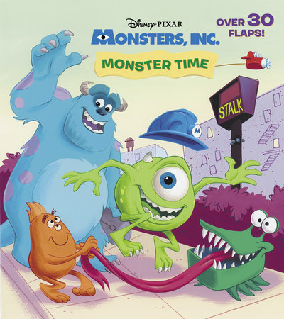 Monster Time (Disney/Pixar Monsters, Inc.) by Andrea Posner-Sanchez