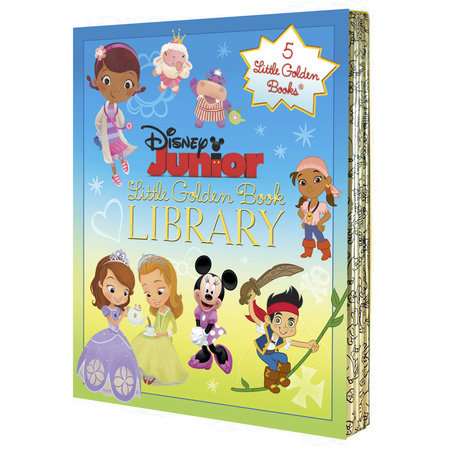 Disney Junior Little Golden Book Library (Disney Junior) by Various
