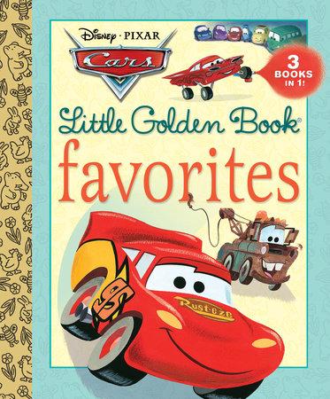 cars little golden book favorites disneypixar cars by various - Disney Cars Books