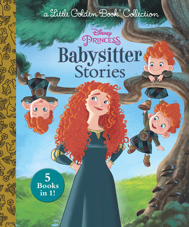 Disney Princess Babysitter Stories (Disney Princess) by Golden Books