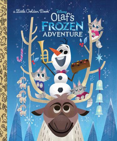 Frozen Holiday Special Little Golden Book (Disney Frozen)