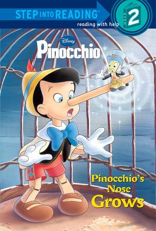 Pinocchio's Nose Grows (Disney Pinocchio) by Barbara Gaines Winkelman