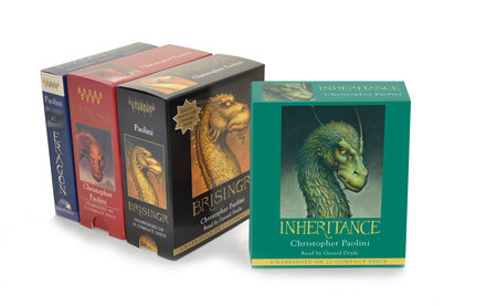 The Inheritance Cycle Audiobook Collection by Christopher Paolini