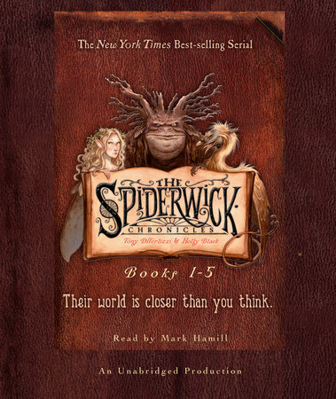 The Spiderwick Chronicles: Books 1-5 by Holly Black and Tony DiTerlizzi