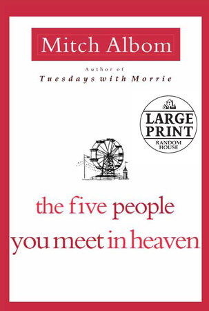 The Five People You Meet in Heaven Book Cover Picture