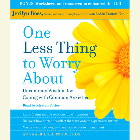 One Less Thing to Worry About by Jerilyn Ross and Robin Cantor-Cooke