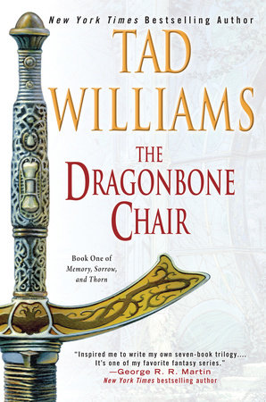 The cover of the book The Dragonbone Chair