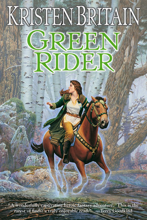 The cover of the book Green Rider