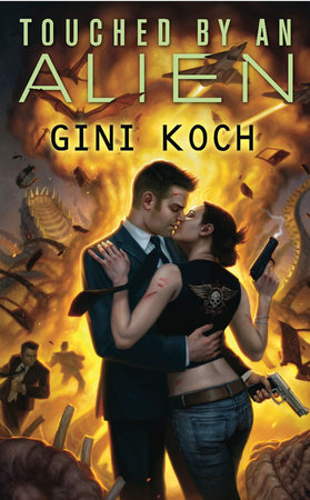 Cover art for the book Touched by an Alien by Gini Koch