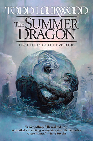 The cover of the book The Summer Dragon