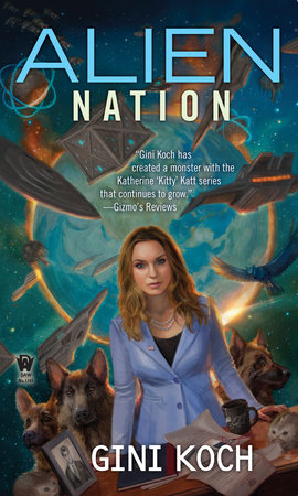 Cover art for the book Alien Nation by Gini Koch