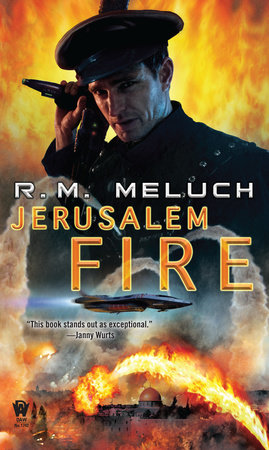 Jerusalem Fire by R. M. Meluch