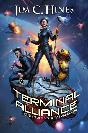 The cover of the book Terminal Alliance