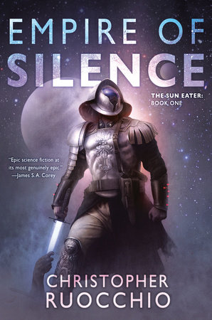 The cover of the book Empire of Silence