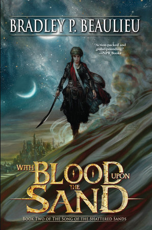 The cover of the book With Blood Upon the Sand