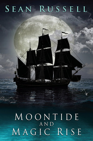 The cover of the book Moontide and Magic Rise