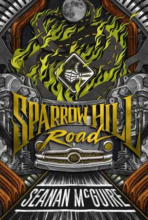 The cover of the book Sparrow Hill Road