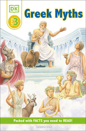 DK Readers L3: Greek Myths