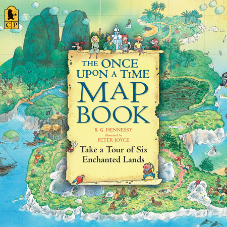 The Once Upon a Time Map Book by B.G. Hennessy