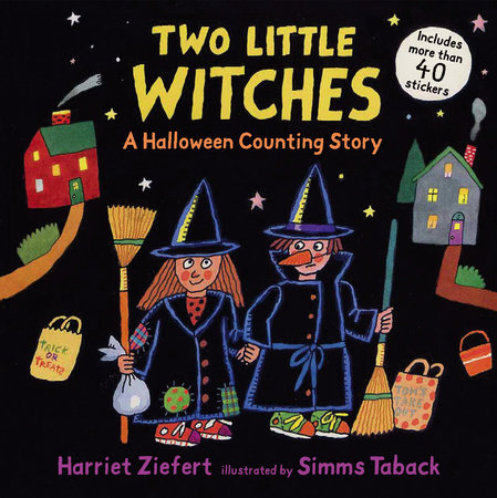 Two Little Witches by Harriet Ziefert