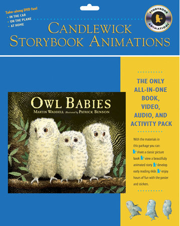 Owl Babies: Candlewick Storybook Animations by Martin Waddell