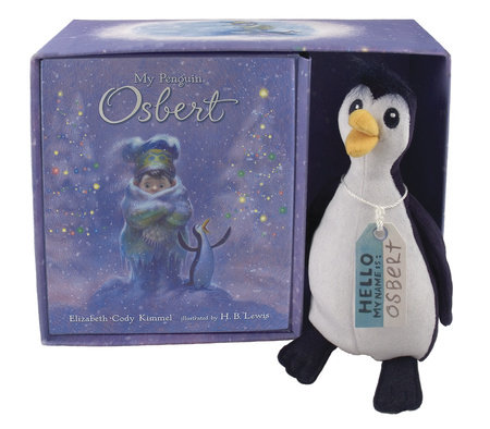 My Penguin Osbert Book and Toy Gift Set by Elizabeth Cody Kimmel