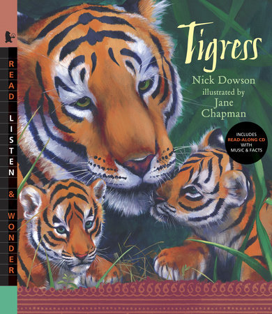 Tigress with Audio by Nick Dowson