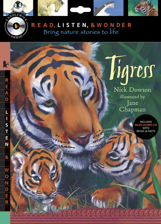 Tigress with Audio, Peggable by Nick Dowson