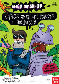 Mega Mash-Up: Spies vs. Giant Slugs in the Jungle