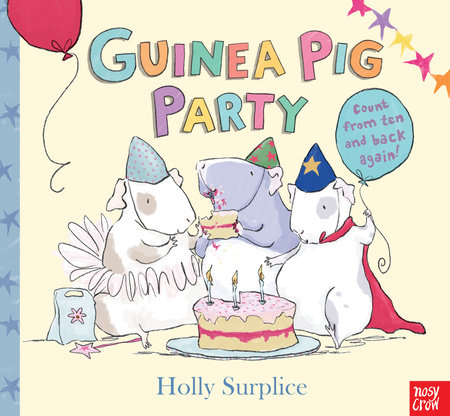 Guinea Pig Party by Holly Surplice