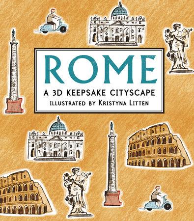 Rome: A 3D Keepsake Cityscape by Kristyna Litten